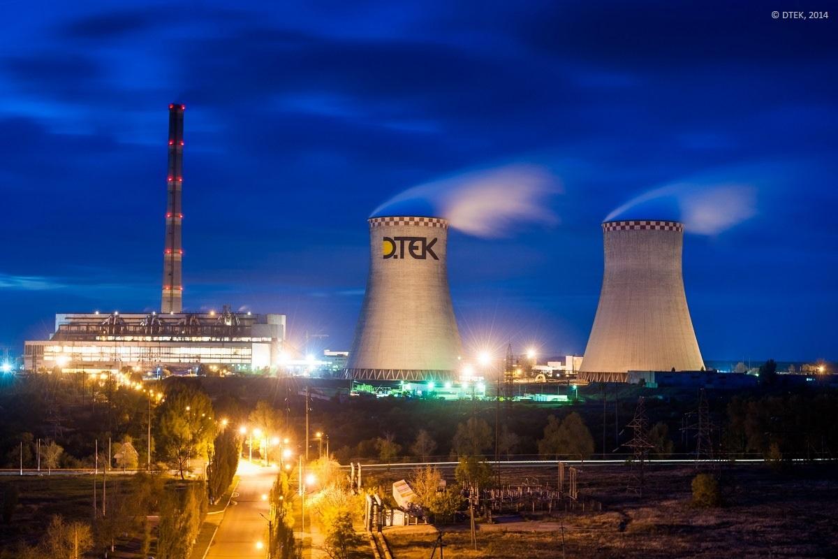 ТЭС ДТЭК в декабре увеличили производство электроэнергии на 25%